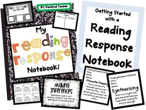 themes for reading response best 25 reading response notebook ideas on pinterest
