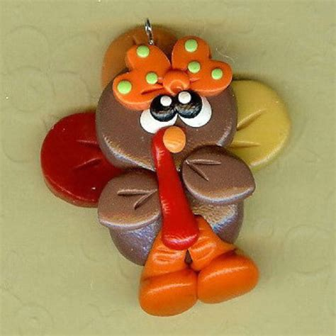 clay crafts for 39 thanksgiving and fall polymer clay craft projects