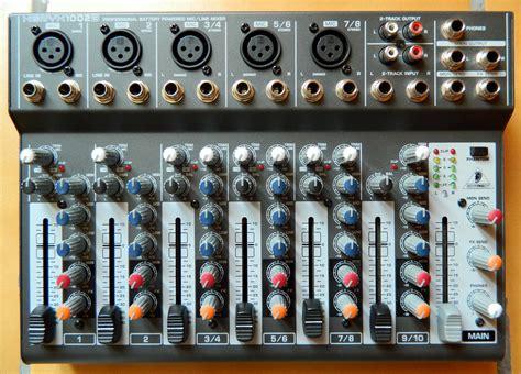 Mixer Xenyx 1002b behringer xenyx 1002b image 800126 audiofanzine