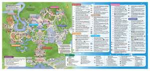 Walt Disney World Magic Kingdom Map by Skipper Canteen Disney World Gluten Free Dining Review