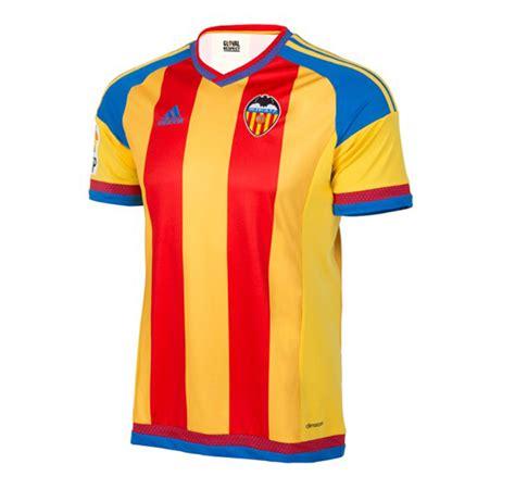 Jersey Valencia Away No Sponsor valencia unveil 2015 16 away kit soccer365