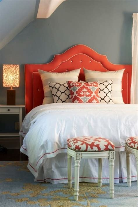navy blue and coral bedroom ideas coral and navy a match made in heaven