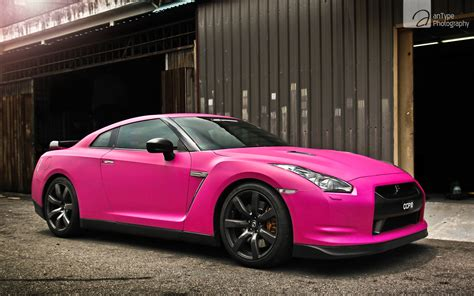 pink cars pink nissan gtr wallpaper hd car wallpapers