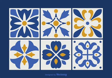 vector pattern tile free talavera vector tiles download free vector art