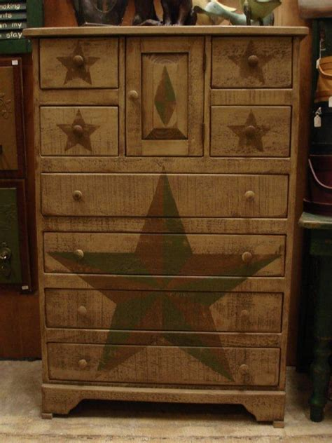 Primitive Bedroom Furniture Amish Primitive Chest Of Drawers Chest Of Drawers Amish Chests 12133