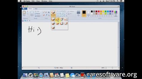 paint for mac microsoft paint for mac os rare software
