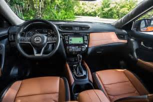 Nissan Rogue Interior First Look 2017 Nissan Rogue Hybrid Automobile Magazine