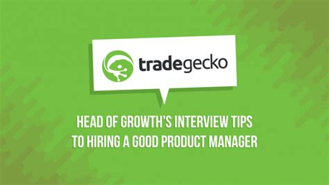 Hiring A Manager Questions Questions For Hiring A Product Manager