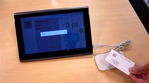 nfc on android adelya service on android nfc tablet