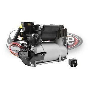2003 2006 mercedes e500 w211 airmatic suspension air compressor w relay