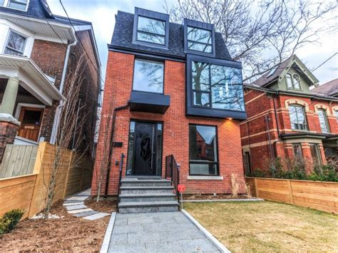 toronto real estate toronto homes for sale toronto mls 2 5 million for one of cabbagetown s few modern homes