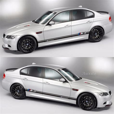 bmw e46 sticker car stickers m performance for bmw 3series 5 series e46