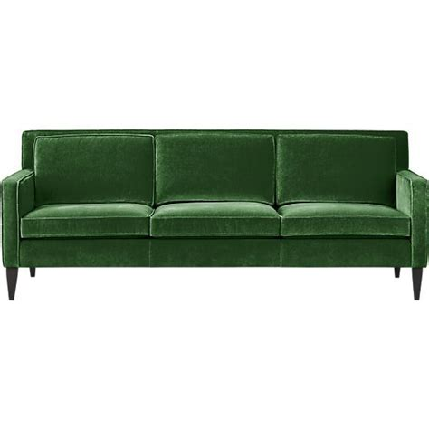 green velvet loveseat rochelle sofa