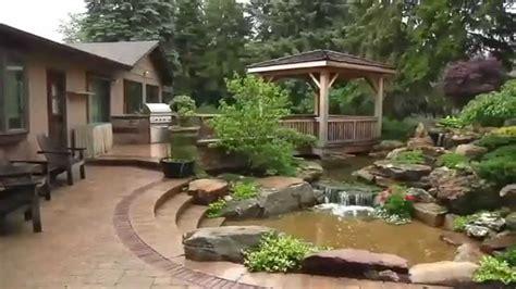 estanque jardin estanques para jard 237 n con peces koi jardines acuaticos