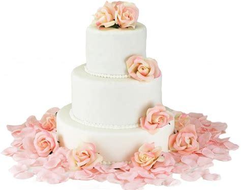 Cake Flower Silk Wedding by Pink Silk Cake Flowers Wedding Reception Decoration