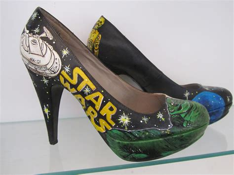 wars womens shoes s shoes images painted amazing wars shoes