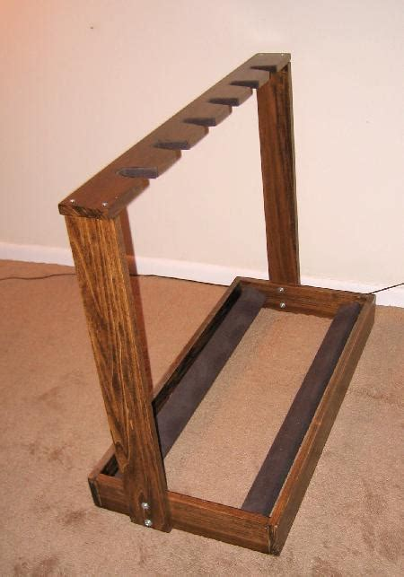 woodworking stand wooden guitar stand
