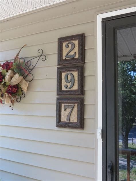 hobby lobby table numbers best 25 house numbers ideas on address