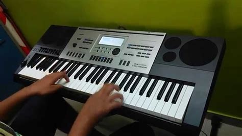 Keyboard Casio At3 Piano Cover Of Galliyan Ek Villain On Casio Ctk 7300in