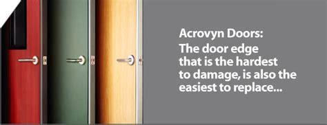 acrovyn doors the door edge that is the hardest to damage