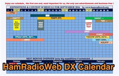 Ham Radio Contest Calendar Ham Radio Web Dx Calendar Resource Detail