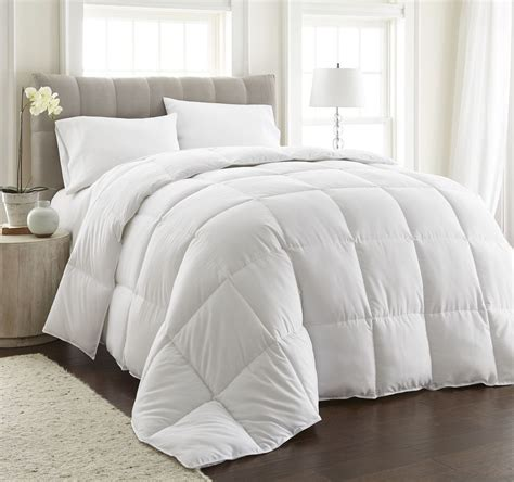 down duvet comforter chezmoi collection oversized goose down alternative