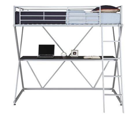 Bunk Bed Ladder Guard Metal Loft Bunk Bed Home Office Computer Workstation Desk Ladder Guard Rails Beds Bed Frames