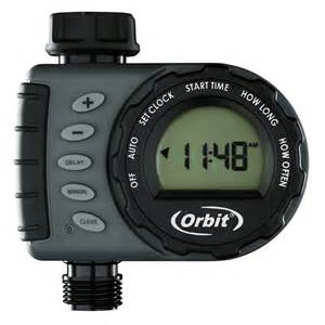 water faucet timer shop orbit digital water timer at lowes