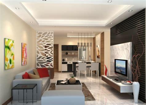 beleuchtung offene küche wohnzimmer design esszimmer