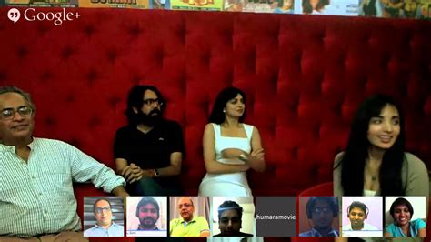 film hangout cast hangout with the cast crew of miss lovely official