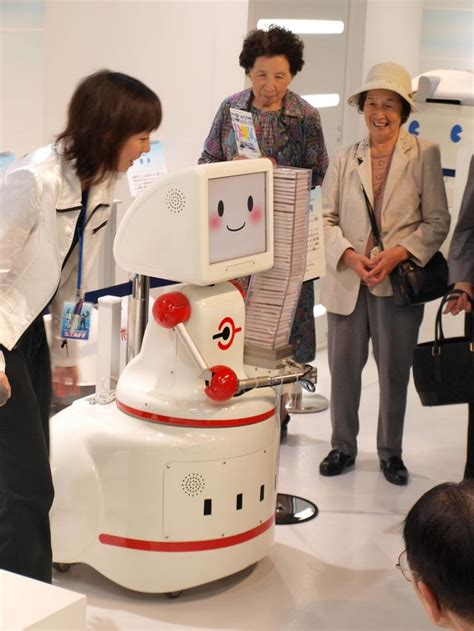 Tissue Dispensing Robot On The Prowl In Japan by Tissue Dispensing Robot Robotshop