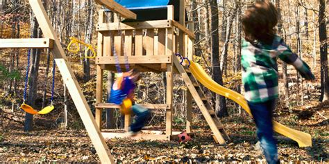 diy home playground ideen 15 diy swing set build a backyard play area for your