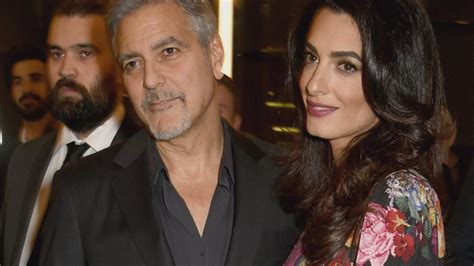 actor george clooney wife twins on the way for actor george clooney and wife amal