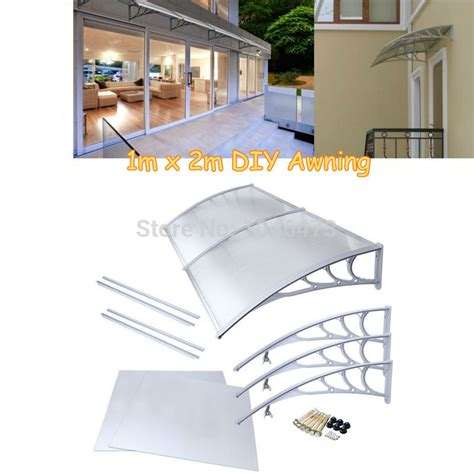 awning polycarbonate price aliexpress com buy ship from uk 1mx2m polycarbonate