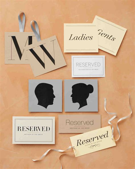 Wedding Clipart Martha Stewart by Wedding Signs And Banners Clip And Templates Martha