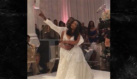 Brandy Kills Ray J and Princess Love's Wedding First Dance