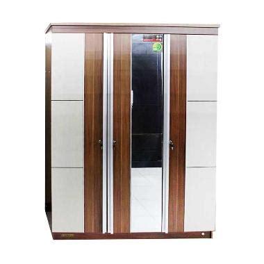 Lemari Pakaian Imax Royal jual imax coach lemari pakaian 3 pintu kaca khusus