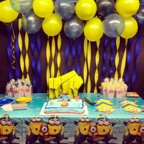 minion party on pinterest minion party party rules and