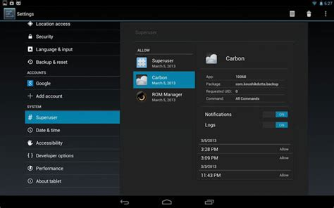 clockwork mod apk clockworkmod superuser now fully integrated into cyanogenmod