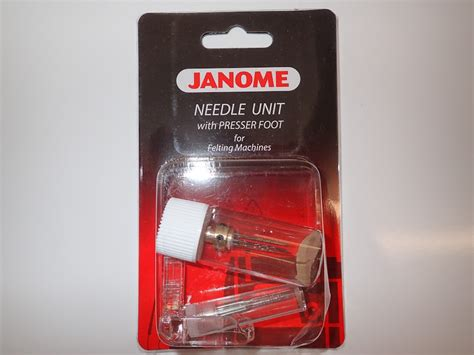 bernina felting foot janome needle unit with presser foot for felting machine