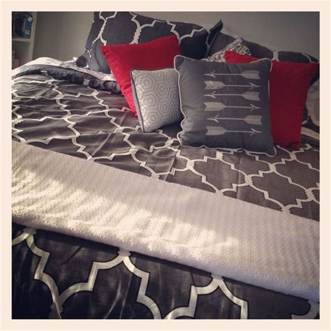 target white bedding grey red white bedding target com i want pinterest