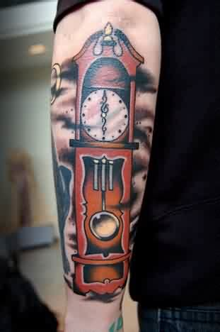 grandfather clock tattoo clock tattoos designs ideas and meaning tattoos for you