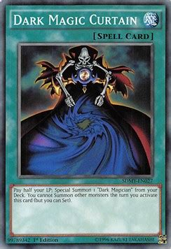 dark magic curtain mystic box yugioh card structure deck yugi muto