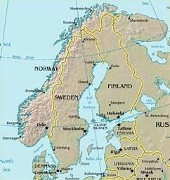 Hedestad Sweden Map Image Mag - Sweden map hedestad