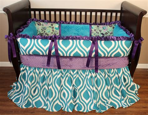 peacock crib bedding poetic peacock crib bedding set 2489 203 40 modpeapod we make custom beddings