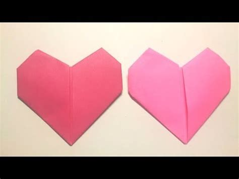 How To Make A Paper Hart - great origami how to make paper hart 暮らしを彩る すてきなおりがみ雑貨 ハート