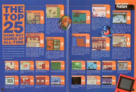 best gameboy the 25 best boy of all time features www