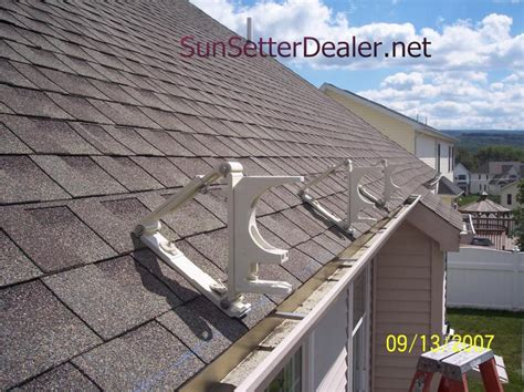 Patio Awning Brackets by Sunsetter Roof Brackets Patio Awning Roof Brackets