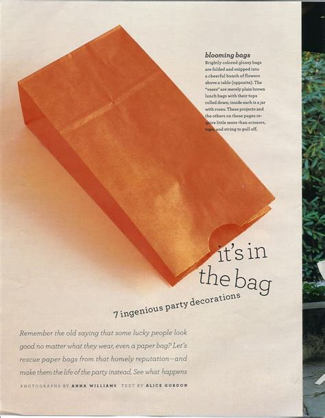 Decorating Brown Paper Bags For by 7 Decorating Ideas With Paper Bags Ideas