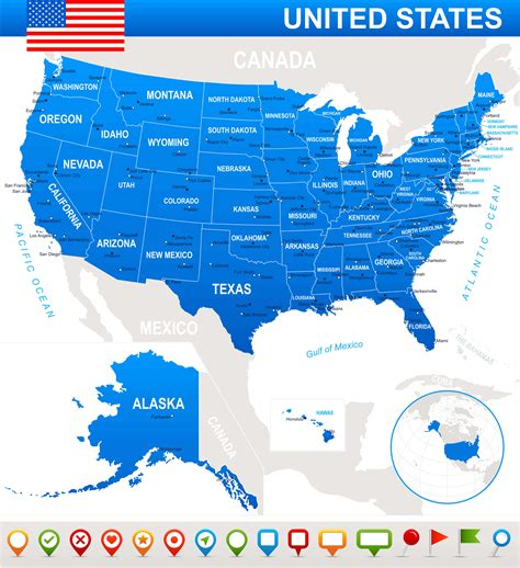 usa map confederate states map of united states